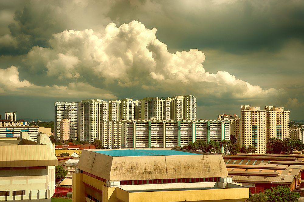 Flats and Factories in Singapore