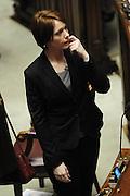 2013/03/21 Roma, Camera dei Deputati. Elezione dei vice presidenti, dei questori e dei segretari d'aula. Nella foto Marta Grande.<br /> Rome, Chamber of Deputies. Election of Vice-Presidents, Questors and Hall Secretaries. In the picture Marta Grande - &copy; PIERPAOLO SCAVUZZO