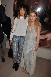 Frankie Herbert and Hero Douglas at the Tatler's English Roses 2017 party in association with Michael Kors held at the Saatchi Gallery, London England. 29 June 2017.<br /> Photo by Dominic O'Neill/SilverHub 0203 174 1069 sales@silverhubmedia.com