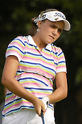 Alexis Thompson during the second day of match play at the U.S. Women's Amateur at Crooked Stick Golf Club on Aug. 9, 2007 in Carmel, Ind.    ...©2007 Scott A. Miller