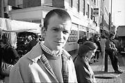 Neville in Camden, 1980s.