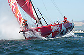 Cape Town, VOR Practice race and prize giving