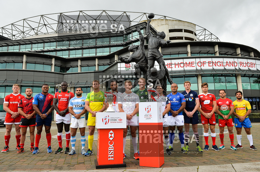 LONDON, ENGLAND - MAY 18:  during the HSBC London Sevens Captains Photocall session at Twickenham Stadium on May 18, 2016 in London, England. (Photo by Roger Sedres/Gallo Images)