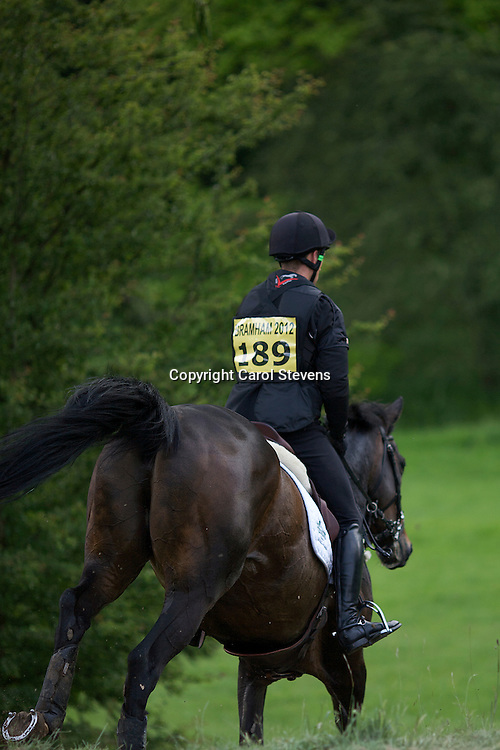 Equi-Trek Bramham International Horse Trials 2012  CIC3*<br /> Stephen Gigot and Orage de Longuennee Ene HN (FRA)