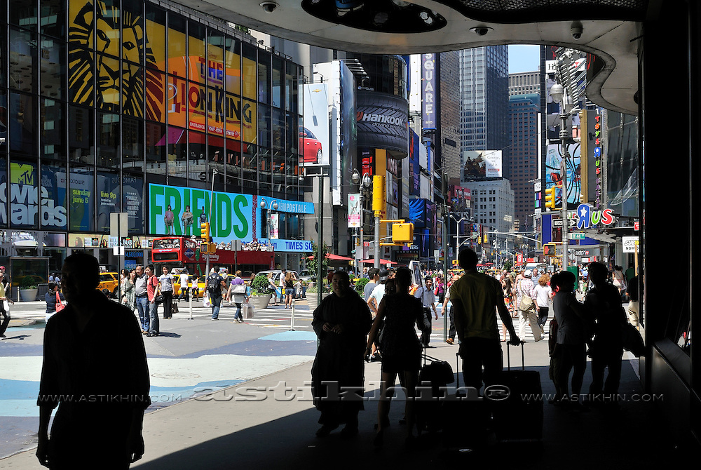 United States, New York, Manhattan, Times Square.