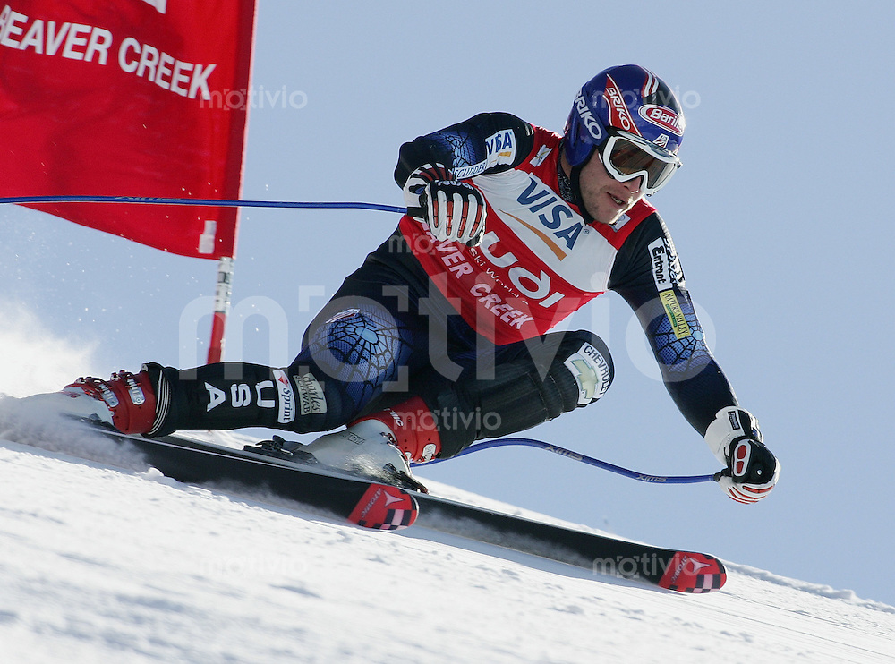 Ski Alpin; Saison 2004/2004 Abfahrt Herren Beaver Creek Training; Bode Miller (USA)