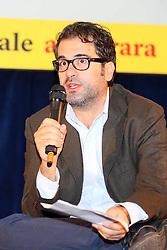 DIBATTITO SUL MASSACRO DEGLI ARMENI DI CENTO ANNI FA FESTIVAL INTERNAZIONALE 2015<br /> FERRARA 03-10-2015<br /> FOTO FILIPPO RUBIN
