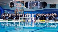 Presentation<br /> Italy ITA (White cup) Vs Hungary HUN (Blue cup)<br /> Waterpolo Women's FINA Europa Cup<br /> Piscina Monte Bianco - Verona VR<br /> Photo Pasquale Mesiano/ Deepbluemedia /Insidefoto