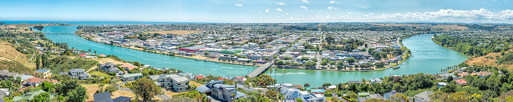 Wanganui from the Durie Hill Tower