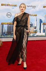 Veronica Dunne at the World premiere of 'Spider-Man: Homecoming' held at the TCL Chinese Theatre in Hollywood, USA on June 28, 2017.