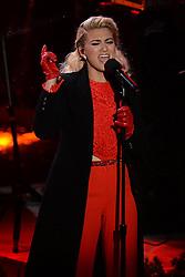 November 30, 2016 - New York, NY, USA - November 30, 2016  New York City..Tori Kelly performing at The Rockefeller Center Christmas Tree lighting ceremony on November 30, 2016 in New York City. (Credit Image: © Callahan/Ace Pictures via ZUMA Press)