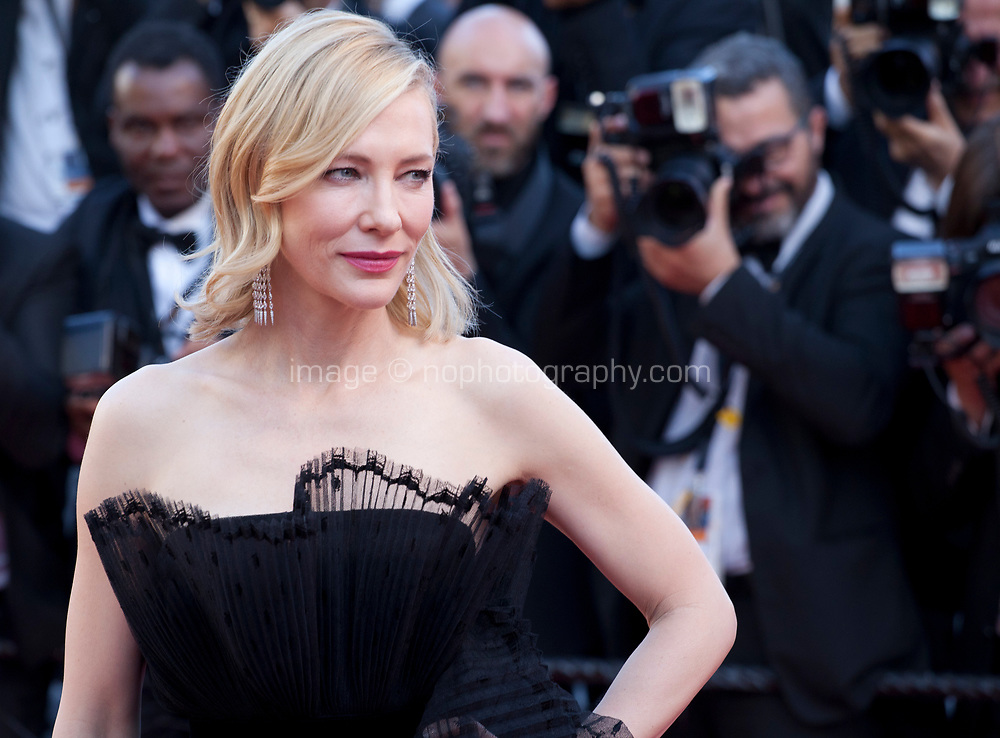 Jury president Cate Blanchett at the Capharnaüm (Cafarnaúm)  gala screening at the 71st Cannes Film Festival, Thursday 17th May 2018, Cannes, France. Photo credit: Doreen Kennedy