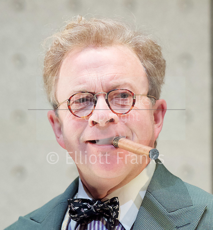 Once in a Lifetime <br /> by Moss Hart & George S. Kaufman <br /> adapted by Christopher Hart <br /> directed by Richard Jones <br /> at Young Vic Theatre, London, Great Britain <br /> Press photocall <br /> 5th December 2016 <br /> <br /> Harry Enfield as Glohauer <br /> <br /> <br /> Photograph by Elliott Franks <br /> Image licensed to Elliott Franks Photography Services