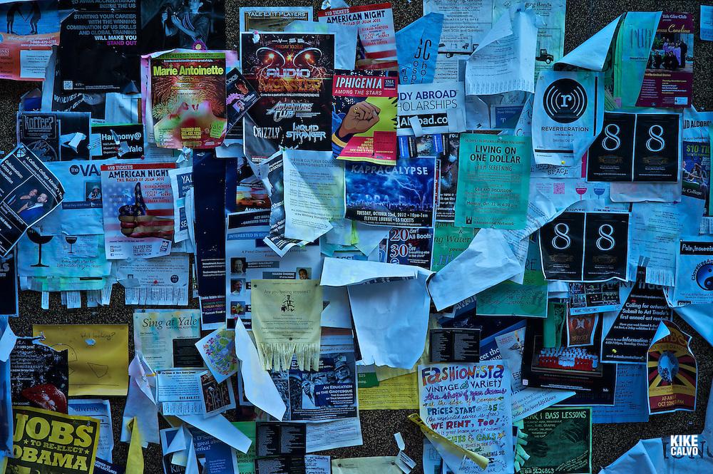 Ads at Yale University.