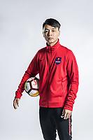 **EXCLUSIVE**Portrait of Chinese soccer player Li Fang of Chongqing Dangdai Lifan F.C. SWM Team for the 2018 Chinese Football Association Super League, in Chongqing, China, 27 February 2018.