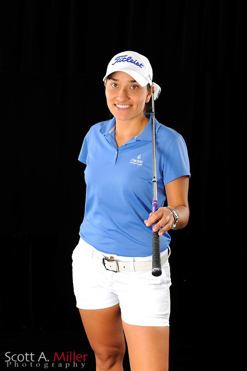 Eileen Vargas during a portrait shoot prior to the Symetra Tour's Florida's Natural Charity Classic at the Lake Region Yacht and Country Club on March 20, 2012 in Winter Haven, Fla. ..©2012 Scott A. Miller.