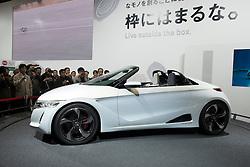 Honda S660 concept vehicle at Tokyo Motor Show 2013 in Japan