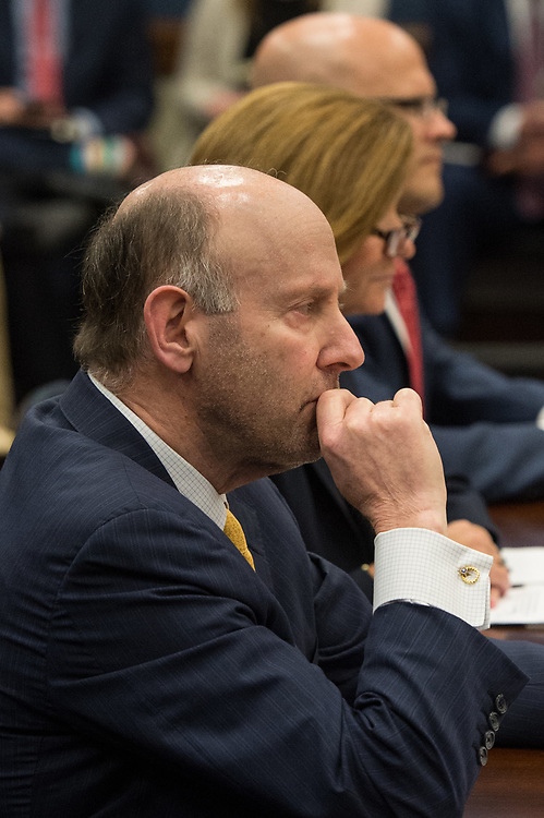 "Mr. Joe Schocken, CEO Broadmark Capital, testifies in a hearing before The Committee on Small Business regarding, ""Reversing the Entrepreneurship Decline"" in on Capitol Hill in Washington D.C., July 19, 2017. Schocken and other witnesses provide the Committee with an opportunity to understand the entrepreneurship trends, challenges, and opportunities that exist in the United States, and will also examine how entrepreneurship influences leading economic indicators and potential solutions to promote new and existing small businesses"