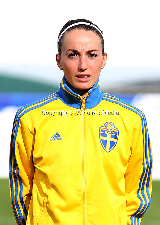 Fifa Womans World Cup Canada 2015 - Preview //<br /> Algarve Cup 2015 Tournament ( Vila Real San Antonio Sport Complex - Portugal ) - <br /> Germany vs Sweden 2-4   -  Kosovare Asllani of Sweden