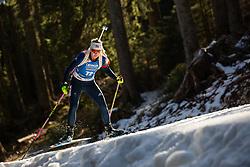 Amanda Lightfoot (GBR)during the Women 15 km Individual Competition at day 2 of IBU Biathlon World Cup 2019/20 Pokljuka, on January 23, 2020 in Rudno polje, Pokljuka, Pokljuka, Slovenia. Photo by Peter Podobnik / Sportida