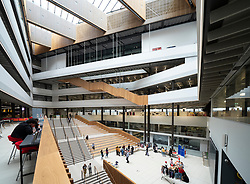 Interior of the  modern City of Glasgow College in centre of Glasgow, Scotland, UK