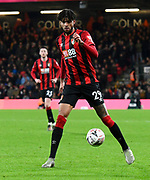 Philip Billing (29) of AFC Bournemouth during the The FA Cup match between Bournemouth and Luton Town at the Vitality Stadium, Bournemouth, England on 4 January 2020.