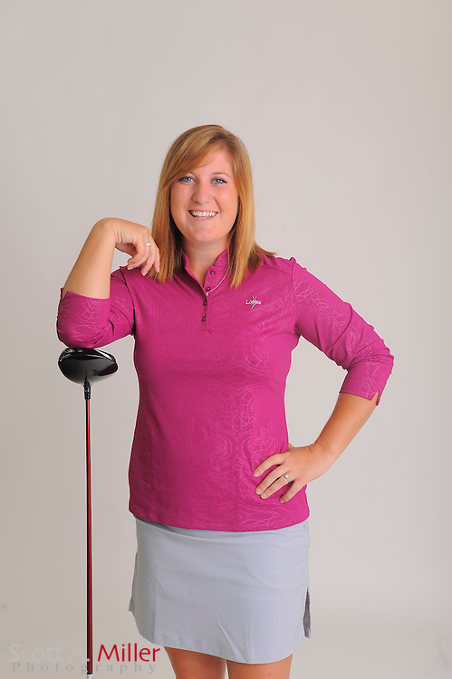 Carrie Riordan during a portrait shoot prior to the Symetra Tour's Florida's Natural Charity Classic at the Lake Region Yacht and Country Club on March 19, 2012 in Winter Haven, Fla. ..©2012 Scott A. Miller.