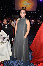 REBECCA FERGUSON at the Caudwell Children's annual Butterfly Ball held at The Grosvenor House Hotel, Park Lane, London on 15th May 2014.