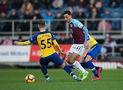 Dwight McNeil of Burnley (C) in action - Mandatory by-line: Jack Phillips/JMP - 02/02/2019 - FOOTBALL - Turf Moor - Burnley, England - Burnley v Southampton - English Premier League