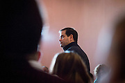Republican Presidential Candidate Sen. Marco Rubio (FL) holds a town hall meeting at the Frank Jones Center in Portsmouth, NH. ahead of the Tuesday primary election.