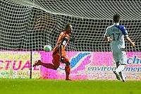 But Wesley SAID  - 30.01.2015 - Laval / Troyes  - 22eme journee de Ligue 2<br /> Photo : Vincent Michel / Icon Sport