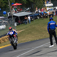 Round 8 of the AMA Superbike Championship at Mid Ohio racetrack, August 1-3 , 2008<br /> <br /> ::Images shown are not post processed ::Contact me for the full size file and required file format (tif/jpeg/psd etc) <br /> <br /> ::For anything other than editorial usage, releases are the responsibility of the end user and documentation/proof will be required prior to file delivery.