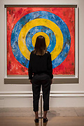 Target, 1961 - Jasper Johns: 'Something Resembling Truth' at the Royal Academy of Arts. The exhibition spans over 60 years from his early career, up to the present and includes over 150 works. The show runs at the RA from 23 September – 10 December 2017.
