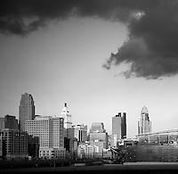 Cincinnati Skyline Queen City Square