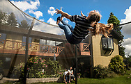 Iben and the rest of her family spend time together at their home north of Copenhagen, Denmark, as they relax during a Lifestyle Photography session with Copenhagen Photographer Matthew James