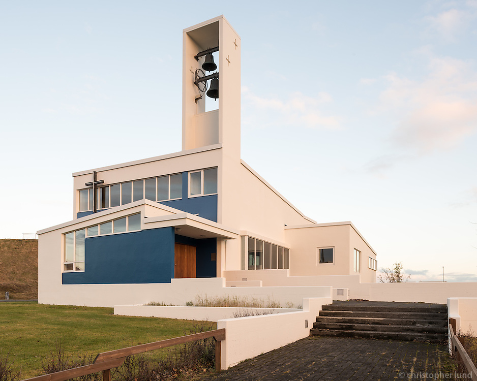 Kirkja óháða safnaðarins við Háteigsveg.