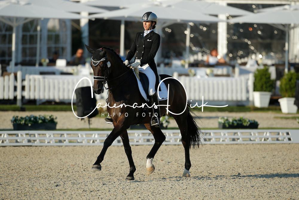 Pearce Simone, (AUS), Salvador<br /> Grand Prix U25<br /> CDIO Hagen 2015<br /> © Hippo Foto - Stefan Lafrentz