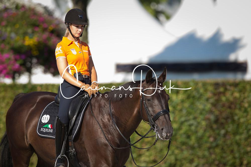 Gevers Katja (NED) - Thriller <br /> Weltfest des Pferdesports CHIO Aachen 2014<br /> &copy; Hippo Foto - Dirk Caremans