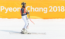 10.02.2018, Jeongseon Alpine Centre, Pyeongchang, KOR, PyeongChang 2018, Ski Alpin, Herren, Abfahrt, Training, im Bild Josef Ferstl (GER) // Josef Ferstl of Germany during the Mens Ski Alpine Downhill Training of the Pyeongchang 2018 Winter Olympic Games at the Jeongseon Alpine Centre in Pyeongchang, South Korea on 2018/02/10. EXPA Pictures © 2018, PhotoCredit: EXPA/ Johann Groder