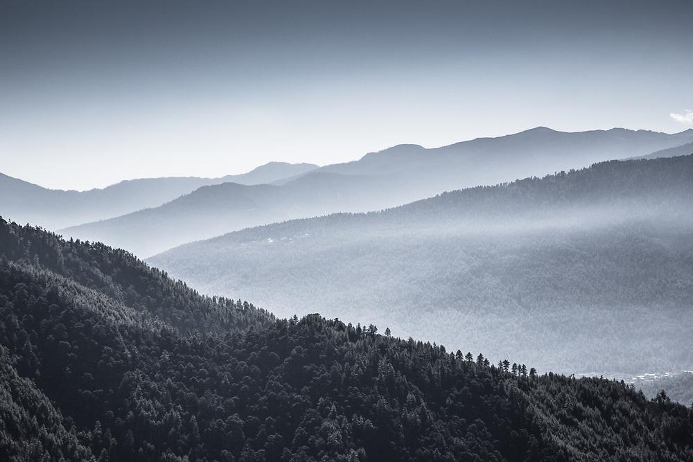 Hills in Bhutan