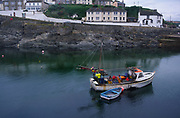 AE2KX2 Fishing boat Porthleven harbour  Cornwall England
