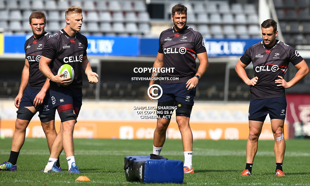 General views during The Cell C Sharks captain's run at Growthpoint Kings Park in Durban, South Africa. 3rd August 2017(Photo by Steve Haag)<br /> <br /> images for social media must have consent from Steve Haag
