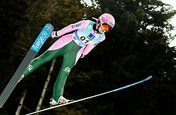 Zdenka Pesatova of Czech Republic competes during Team Competition at Day 2 of World Cup Ski Jumping Ladies Ljubno 2019, on February 9, 2019 in Ljubno ob Savinji, Slovenia. Photo by Matic Ritonja / Sportida