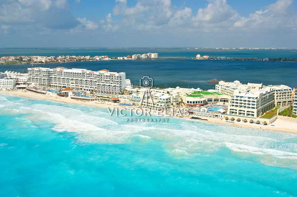 Royal Cancun and Gran Caribe Real hotels-Real Resorts. Cancun, Quintana Roo. Mexico.