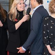 NLD/Amsterdam/20180215 - Goed Geld Gala 2018, Leonardo DiCaprio en Vivian Slingerland