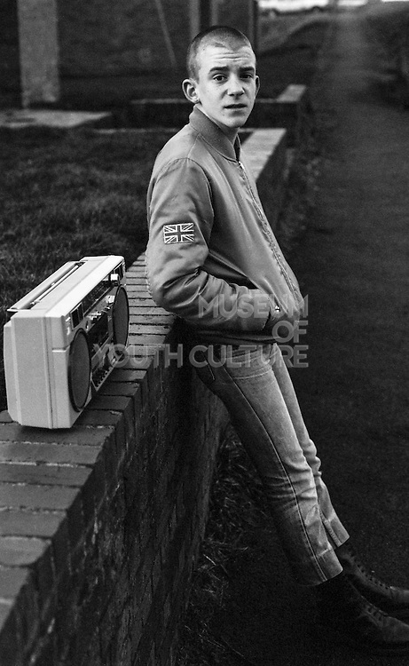 Neville with a Radio, High Wycombe, UK, 1980s