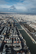 13 Paris city center aerial view