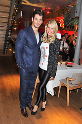 DAVID GANDY and DENISE VAN OUTEN at One Night Changes Everything - a fundraising evening for the 2013 Comic Relief Campaign held at The Royal Opera House, London on 28th February 2013.
