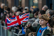 Crowds of all ages outside St Paul's - The new Lord Mayor (Peter Estlin, the 691st) was sworn in yesterday. To celebrate, today is the annual Lord Mayor's Show. It includes Military bands, vintage buses, Dhol drummers, a combine harvester and a giant nodding dog in the three-mile-long procession. It brings together over 7,000 people, 200 horses and 140 motor and steam-driven vehicles in an event that dates back to the 13th century. The Lord Mayor of the City of London rides in the gold State Coach.