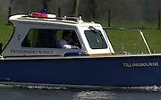 2003 - Rowing - Henley Boat Races (Women's varsity Boat Race).Enviroment Agency launch.